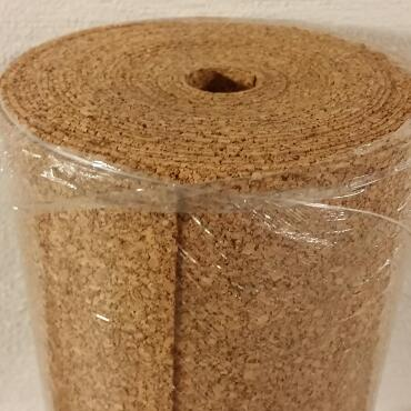 Cork Roll 2mm 20m² Rolled Impact Sound Insulation...
