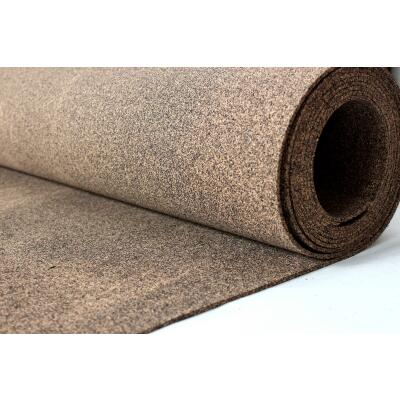 Cork rubber rubber cork 100x50 cm thickness 3mm impact sound seal oil resistant
