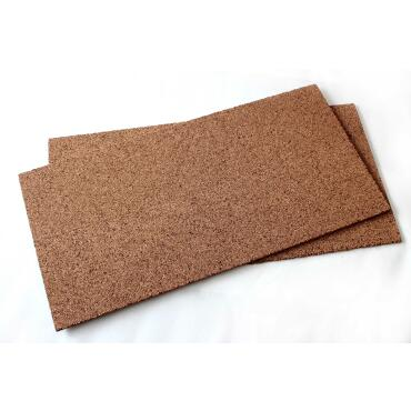 5 m² package 10 mm thickness: 10 cork boards 100x50 cm