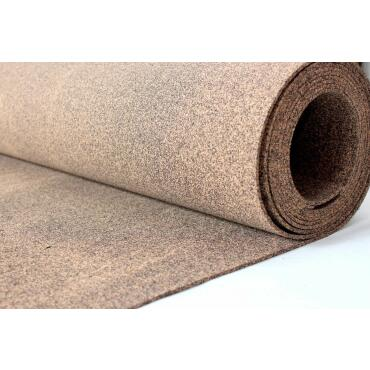 Rubber cork 10 m² roll 3 mm thickness