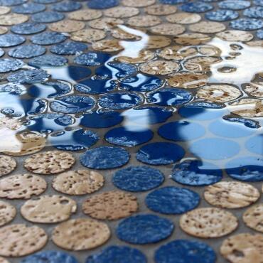 Korkmosaik Einzelplatten ca. 60x30 cm Premium Outdoor...
