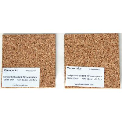Cork plate 10mm A4, - crafts, model making, pin board and more