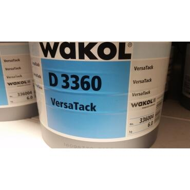 Wakol D3360 VersaTack 6kg dispersion adhesive
