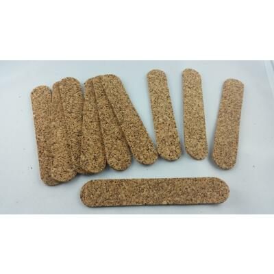 Cork strip to optimize fit 10 pieces hat hat band reduce cork inlay