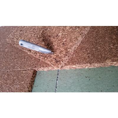 Extrem Korkplatten 100 x 50 x 2 cm Unterlage Isolierung Dämmung, 7,50 € NR71