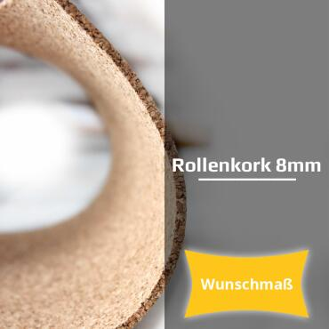 Roll cork 8 mm | desired length [desired length] width 1m