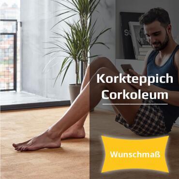 "Cork carpet ""Pear"" 1,4 m x desired length 20cm..."