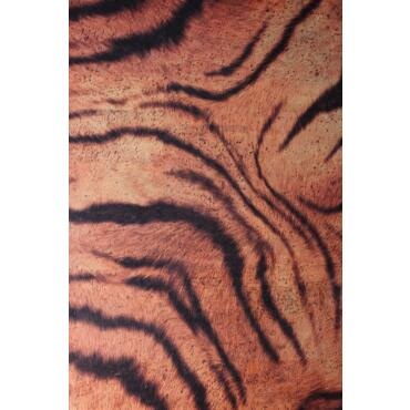"Cork fabric design ""Tiger"" Format A4"