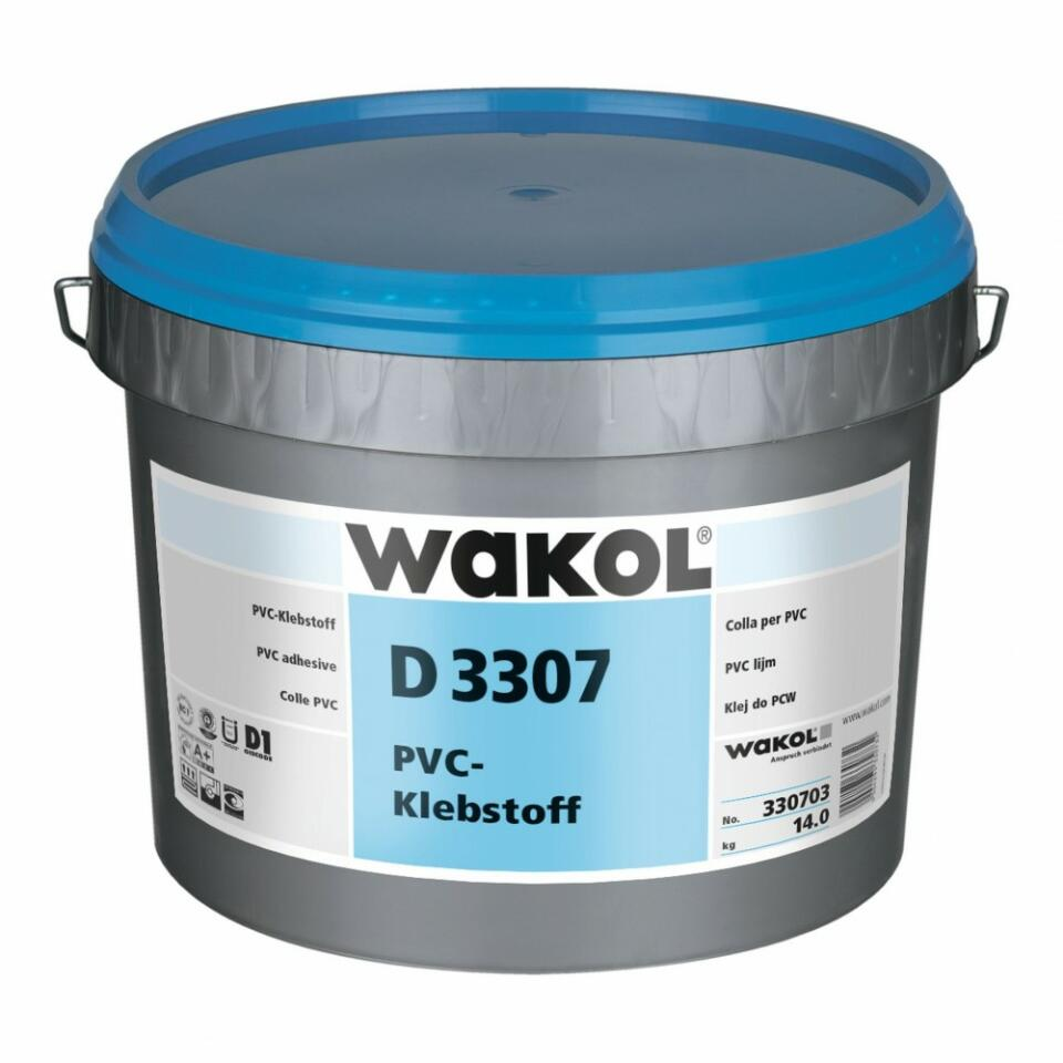 WAKOL D3307 Colle De Dispersion Adhésive PVC 6 Kg, 28,50