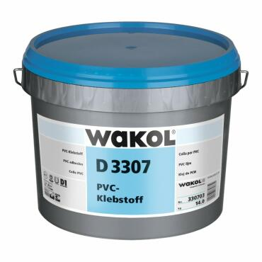 WAKOL D3307 6kg PVC adhesive dispersion adhesive
