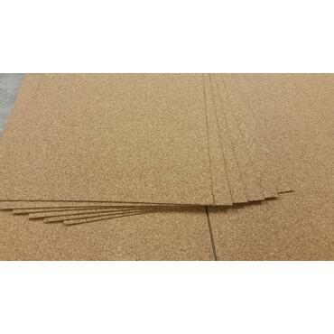 Rollenkork 4 mm | 1m²  [Zuschnitt]  (100x100 cm, 1 Stk)