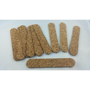 100 cork strips (2mm)