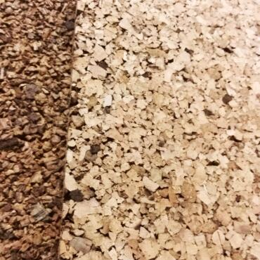 Cork board 100 x 50 x 2 cm (20 mm thickness) | rustic +...