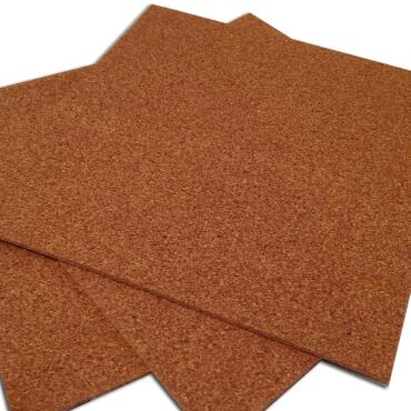 Cork board 50 x 50 cm with 7 mm thickness