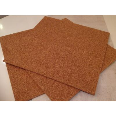 Cork plate 50 x 50 cm with 7mm thickness 4pcs