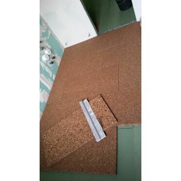 Korkplatte 100 x 50 x 3 cm (30 mm Stärke)