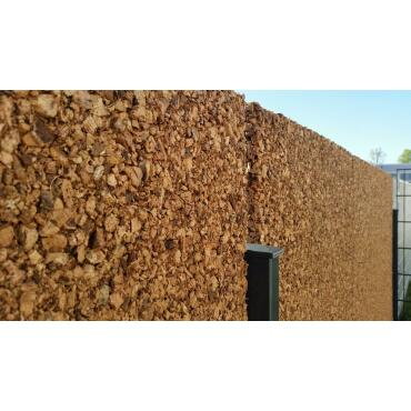 Sichtschutz Wand, Kork Platte 100x50x3cm,...