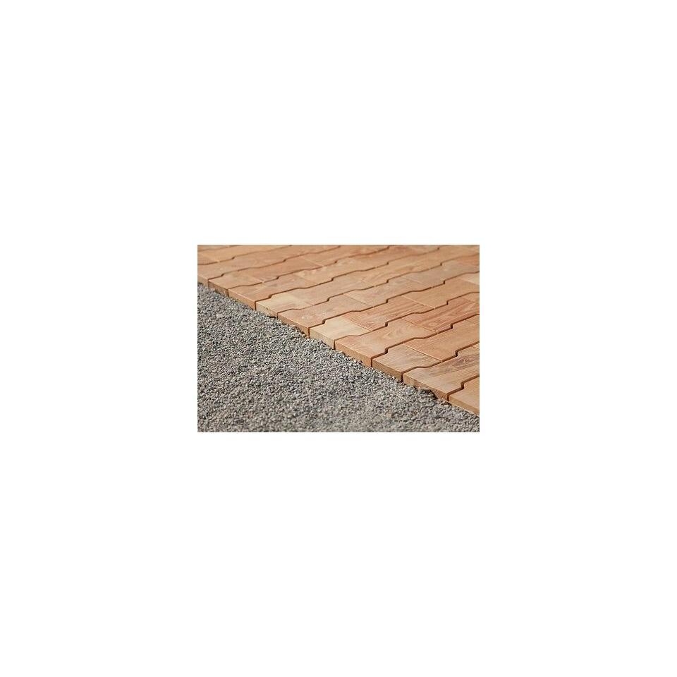 cobblestone holzfliesen outdoor belag pflasterstein 4 35. Black Bedroom Furniture Sets. Home Design Ideas