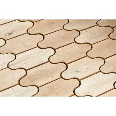 Terrassen Dielen, 1 Stück cobbleSTONE, Holzfliesen,...